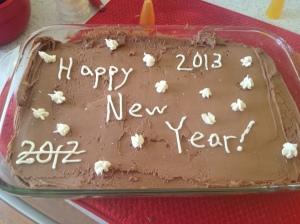 2012/2013 NYE Cake